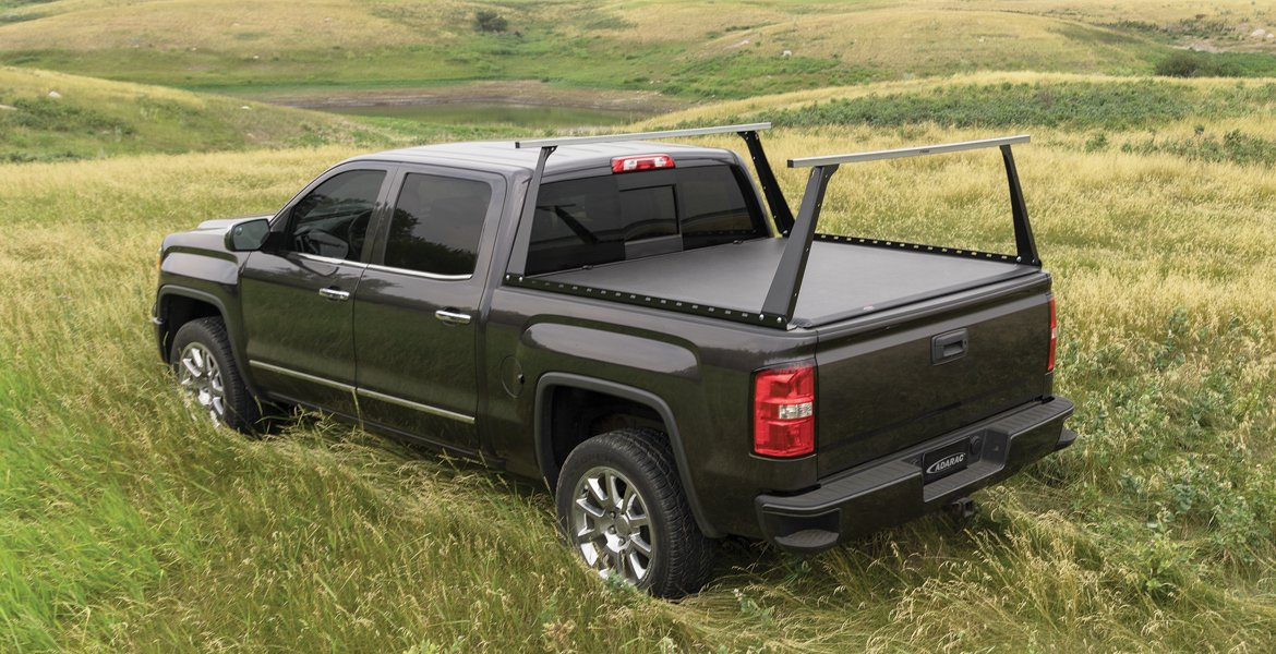 Truck Bed Rack and Tonneau Cover Combo