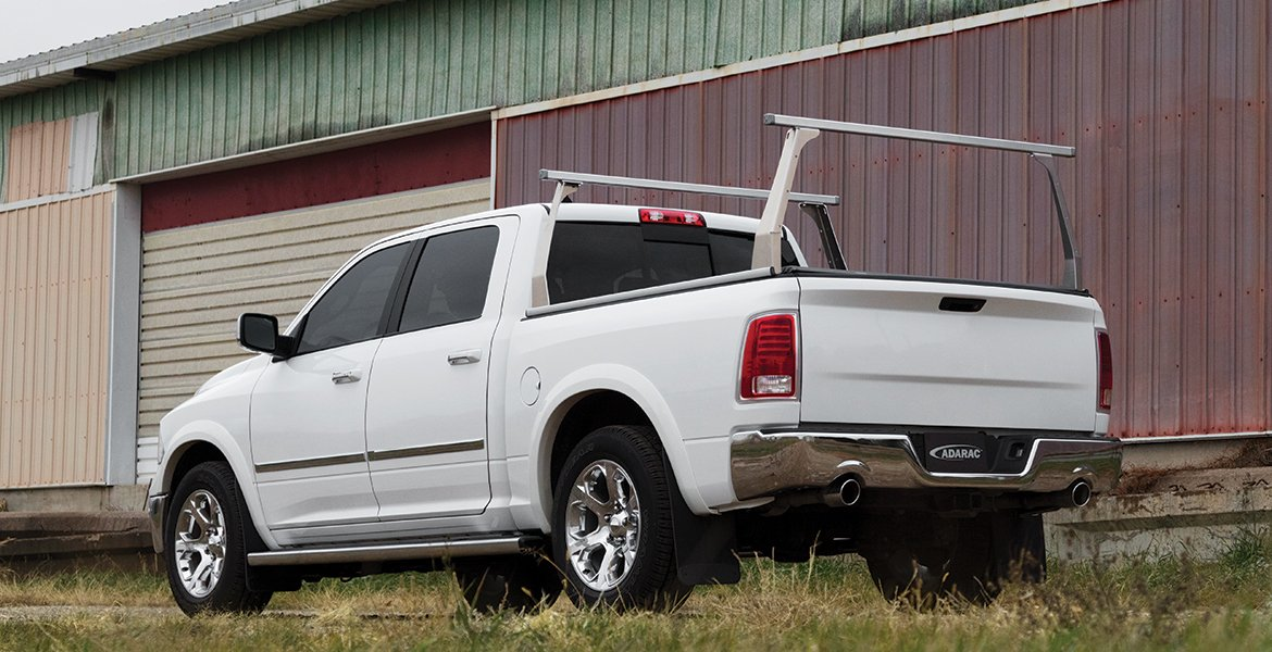 Ram Pickup Rack and Tonneau Cover