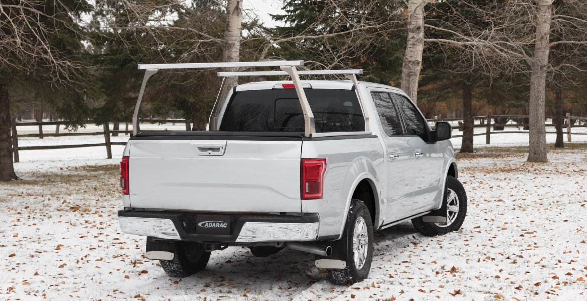 Ford Truck with Rack