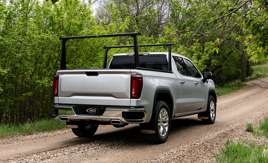 Roll Up Truck Bed Covers >> Adarac Aluminum Pro Series Truck Bed Rack for Pickup Trucks