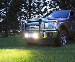 Ford Truck with Off-Road LED Lights