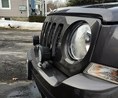 Jeep w/ACI Off-Road LED Lights