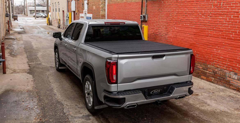 Lomax Hard Tri Fold Tonneau Cover Folding Truck Bed Cover