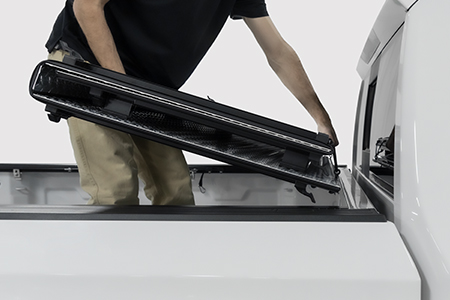 Removing Hard Tonneau Cover