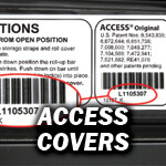 Access Cover Serial Number