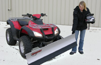 Lifting ATV Blade