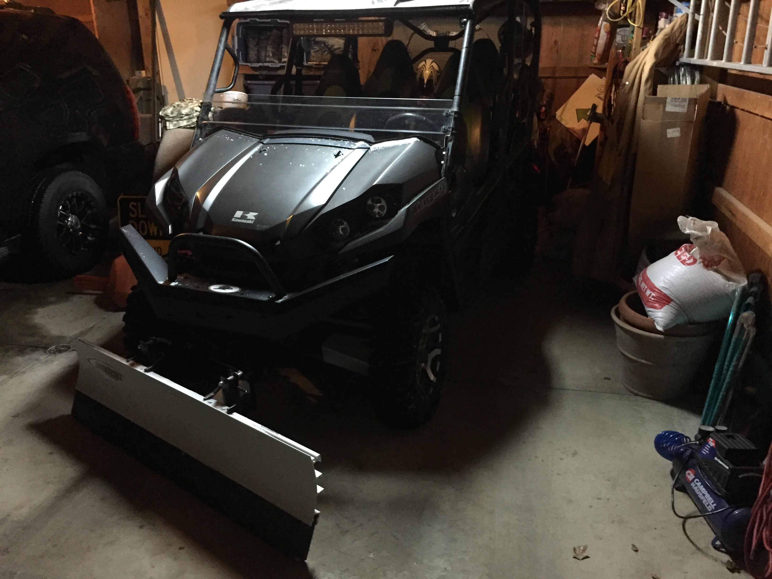 SnowSport ATV Snow Plow