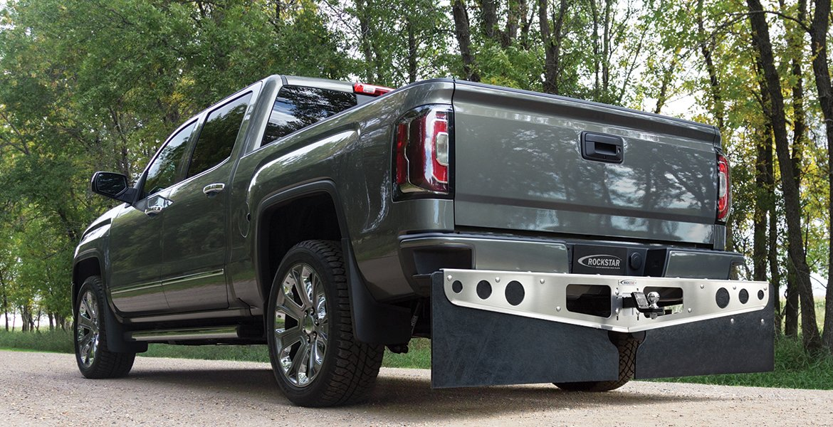 ROCKSTAR Hitch Mounted Mud Flapsr