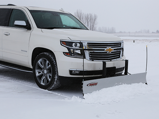Chevy Tahoe Snow Plow